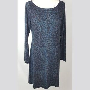 Reba - Leopard Print Knit Dress
